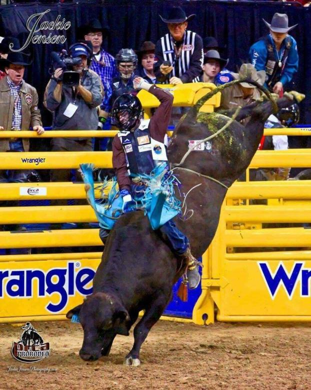Garrett at the NFR
